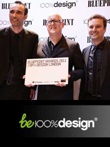 100pourcent-design_FRED & FRED_BLUE PRINT award
