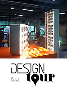 FRED & FRED lampe sur orange design tour
